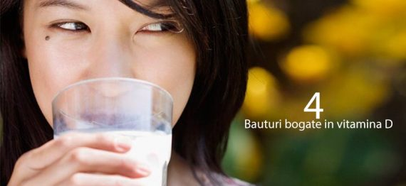 4 bauturi bogate in Vitamina D pe care sa le incluzi in dieta