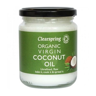 ulei de cocos clearspring