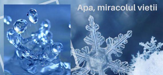 Apa miracolul vietii