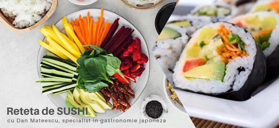 Reteta japoneza - Sushi vegan