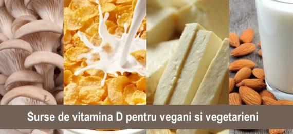 Surse de vitamina D pentru vegani si vegetarieni