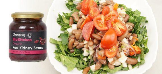 Salata de fasole rosie Kidney - un plus de fibre si antioxidanti