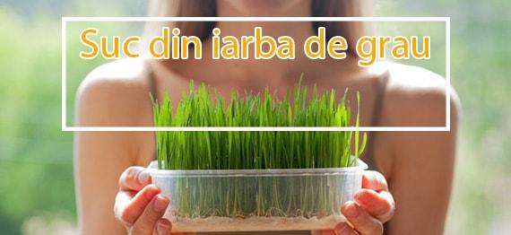 Descopera miracolul vindecator din suc de iarba de grau