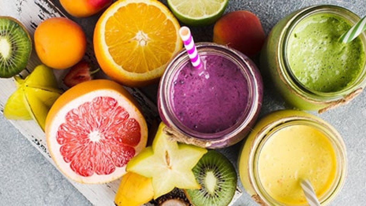 combinatii de fructe pentru sucuri