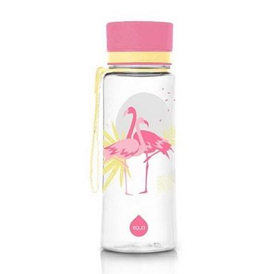 Sticla fara BPA Flamingo 600ml Equa