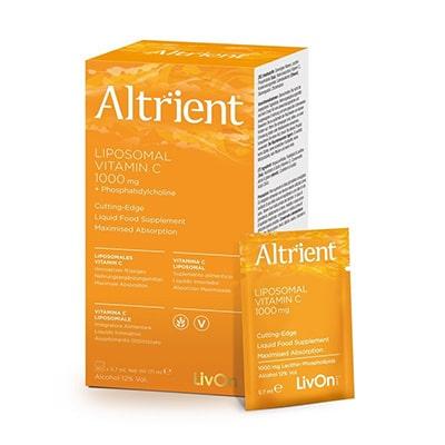 Vitamina C Lipozomala Altrient C 1000mg, 30 plicuri LivOn Labs