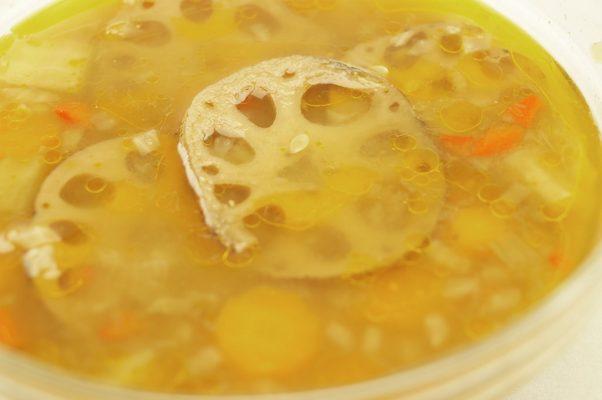 supa de leguma cu lotus si miso