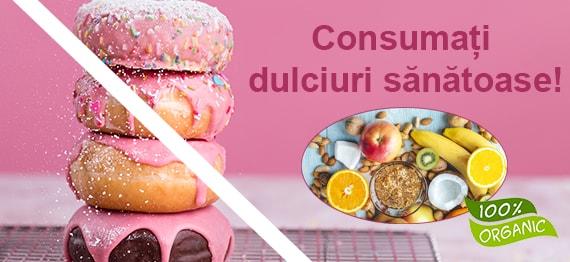 Dulciuri – de ce ne este pofta si ce mici delicii sanatoase putem consuma