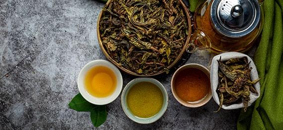 Ceai albastru sau ceai Oolong - adevarata maiestrie a artizanilor