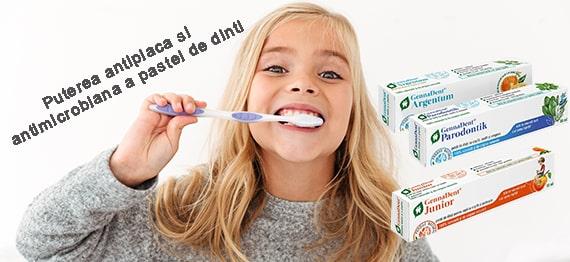Puterea antiplaca si antimicrobiana a pastei de dinti