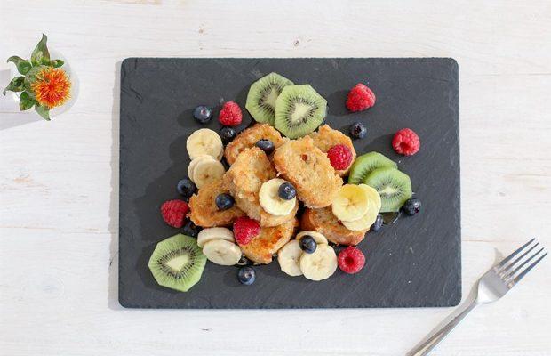 Toast frantuzesc cu Amazake – un mic dejun 100% vegan