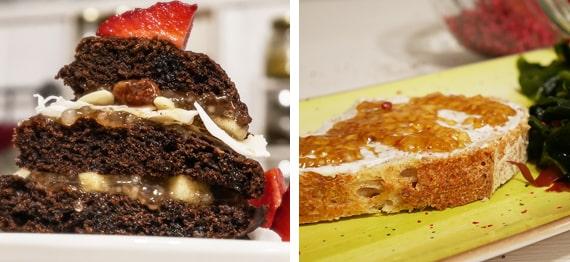 Caviar vegan din perle de tapioca si Budinca de mere cu tapioca si stafide