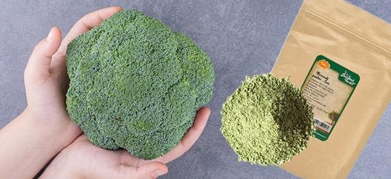 Broccoli si pudra de broccoli pentru o sanatate mai buna