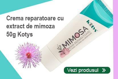 Crema reparatoare cu extract de mimosa pudica
